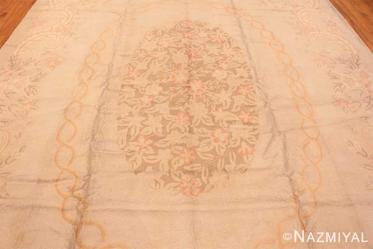 Field Large Antique American hooked rug 2030 by Nazmiyal