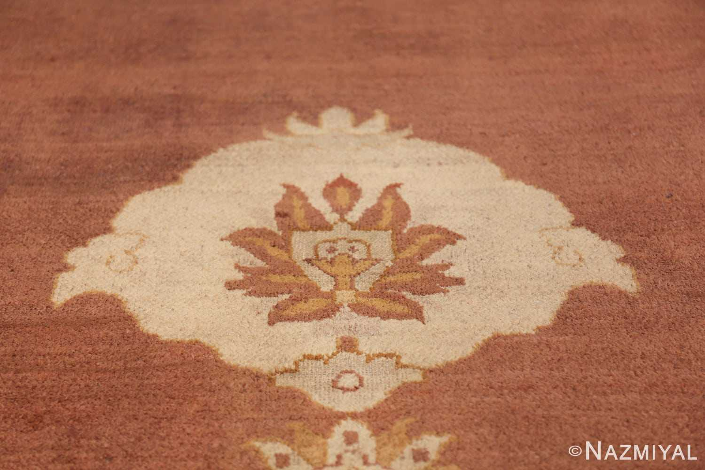 Large and Decorative Antique Indian Amritsar Rug 1950 Tiara Nazmiyal