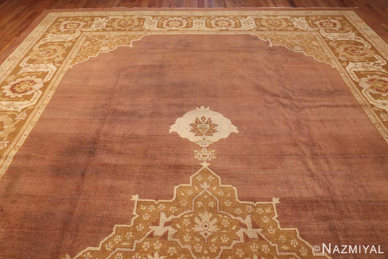 Large and Decorative Antique Indian Amritsar Rug 1950 Top Design Nazmiyal
