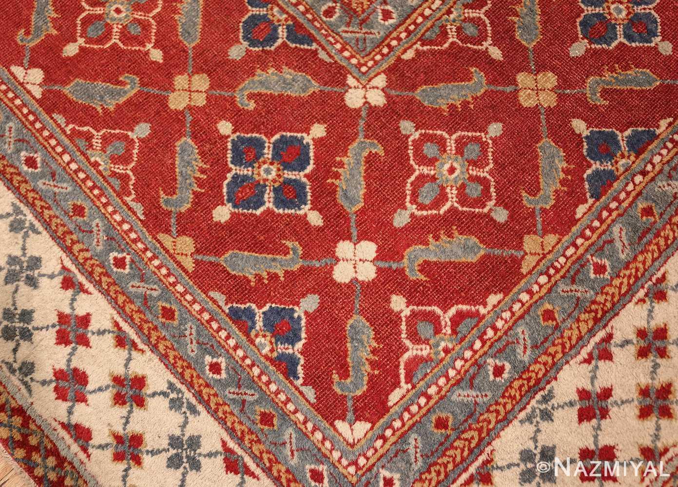 large oversized antique indian agra oriental rug 41340 design Nazmiyal