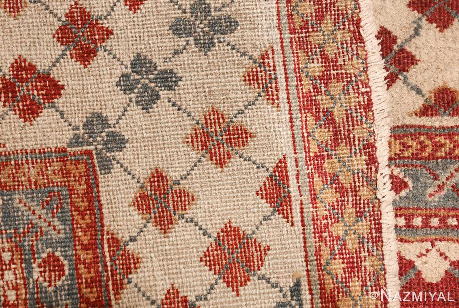 large oversized antique indian agra oriental rug 41340 weave Nazmiyal