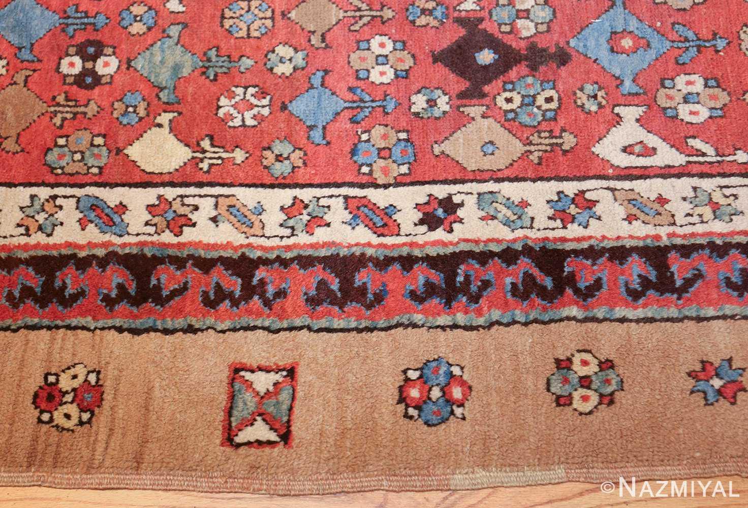 small tribal antique persian bakshaish rug 42827 border Nazmiyal