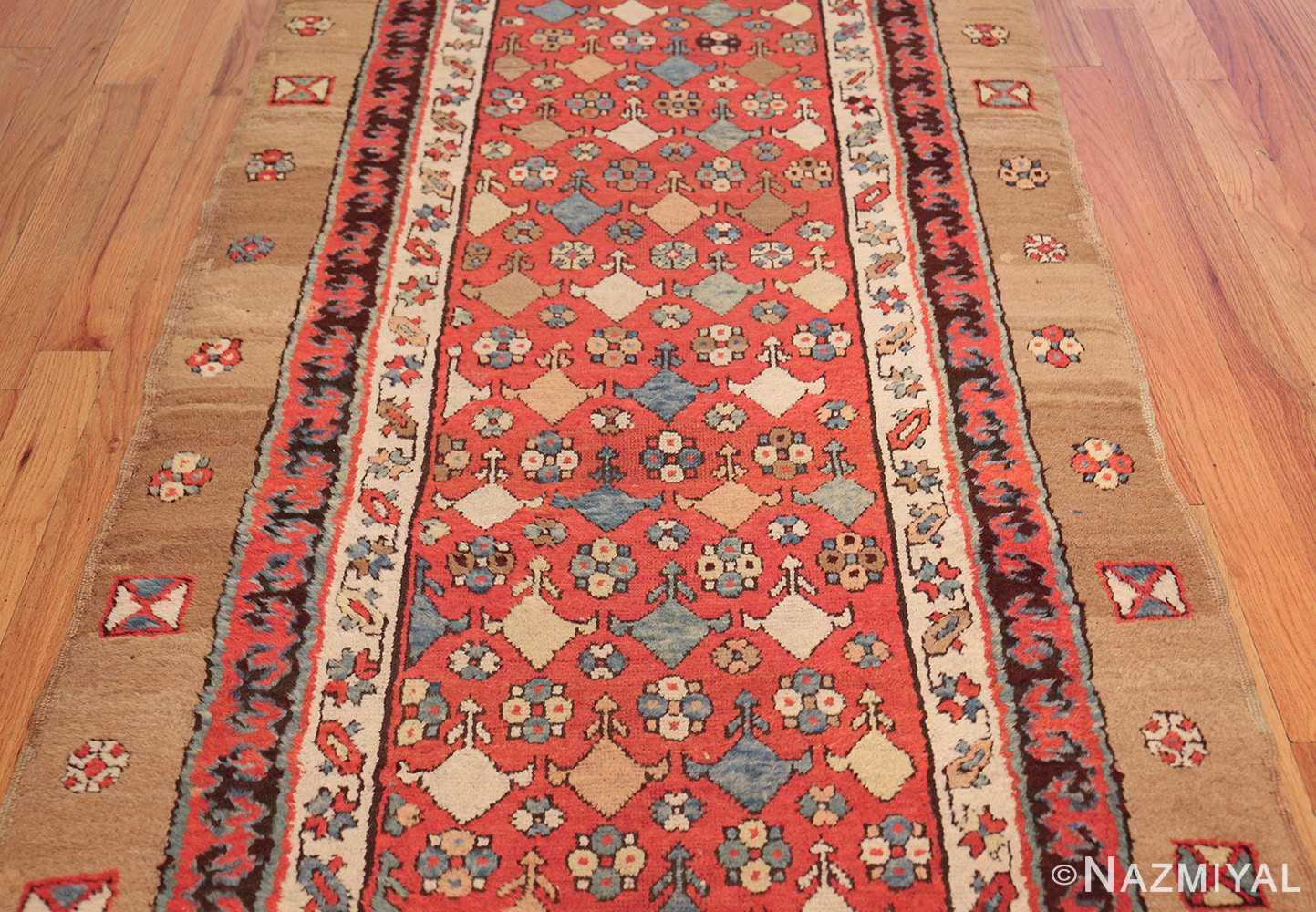 small tribal antique persian bakshaish rug 42827 field Nazmiyal