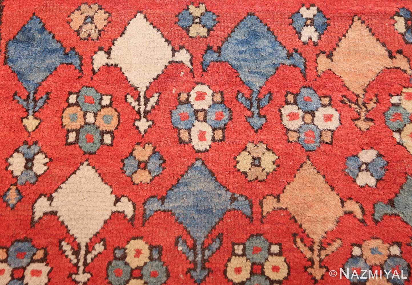 small tribal antique persian bakshaish rug 42827 flower Nazmiyal