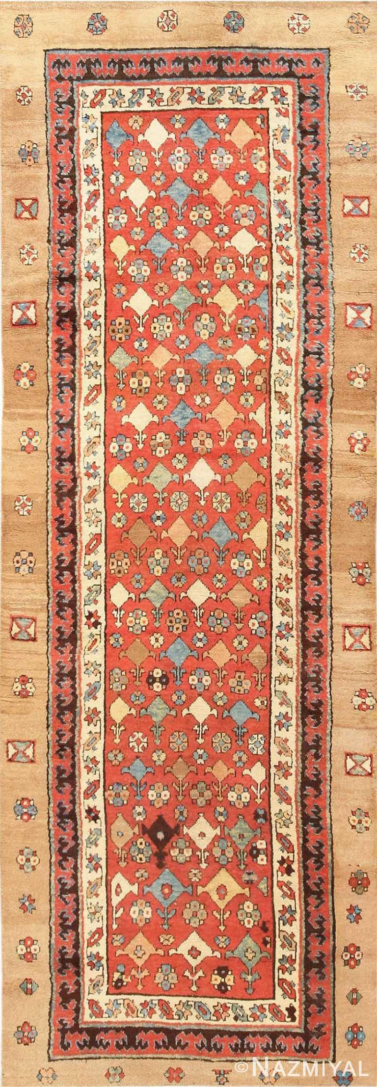 Small Tribal Antique Persian Bakshaish Rug #42827 by Nazmiyal Antique Rugs