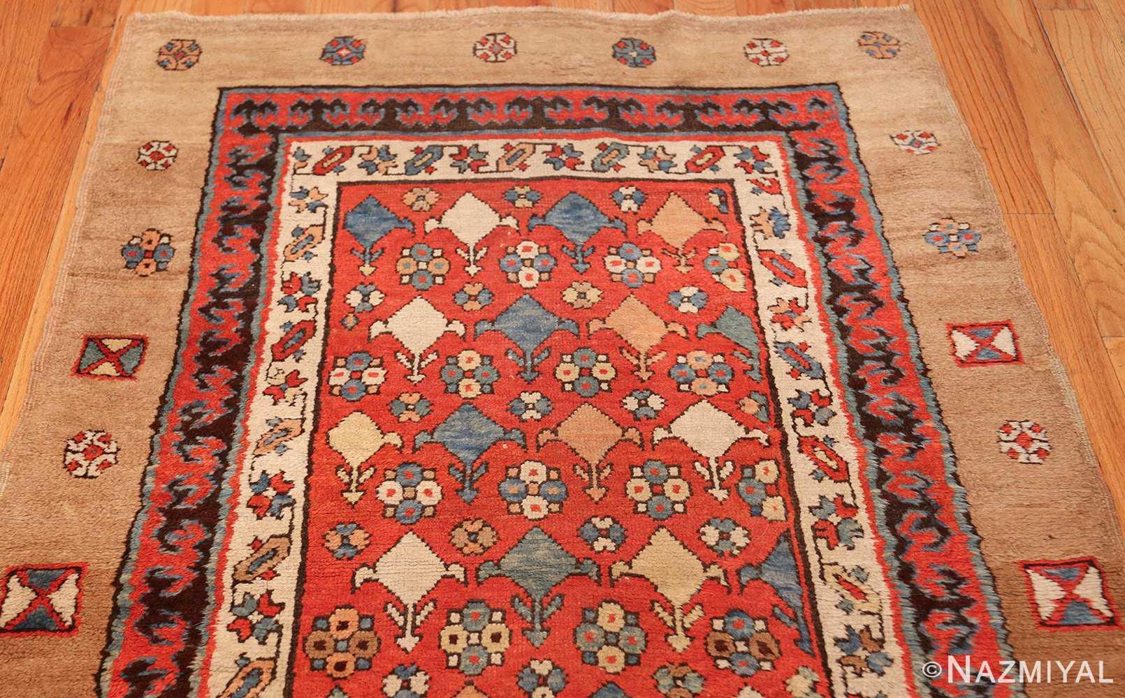 small tribal antique persian bakshaish rug 42827 top Nazmiyal