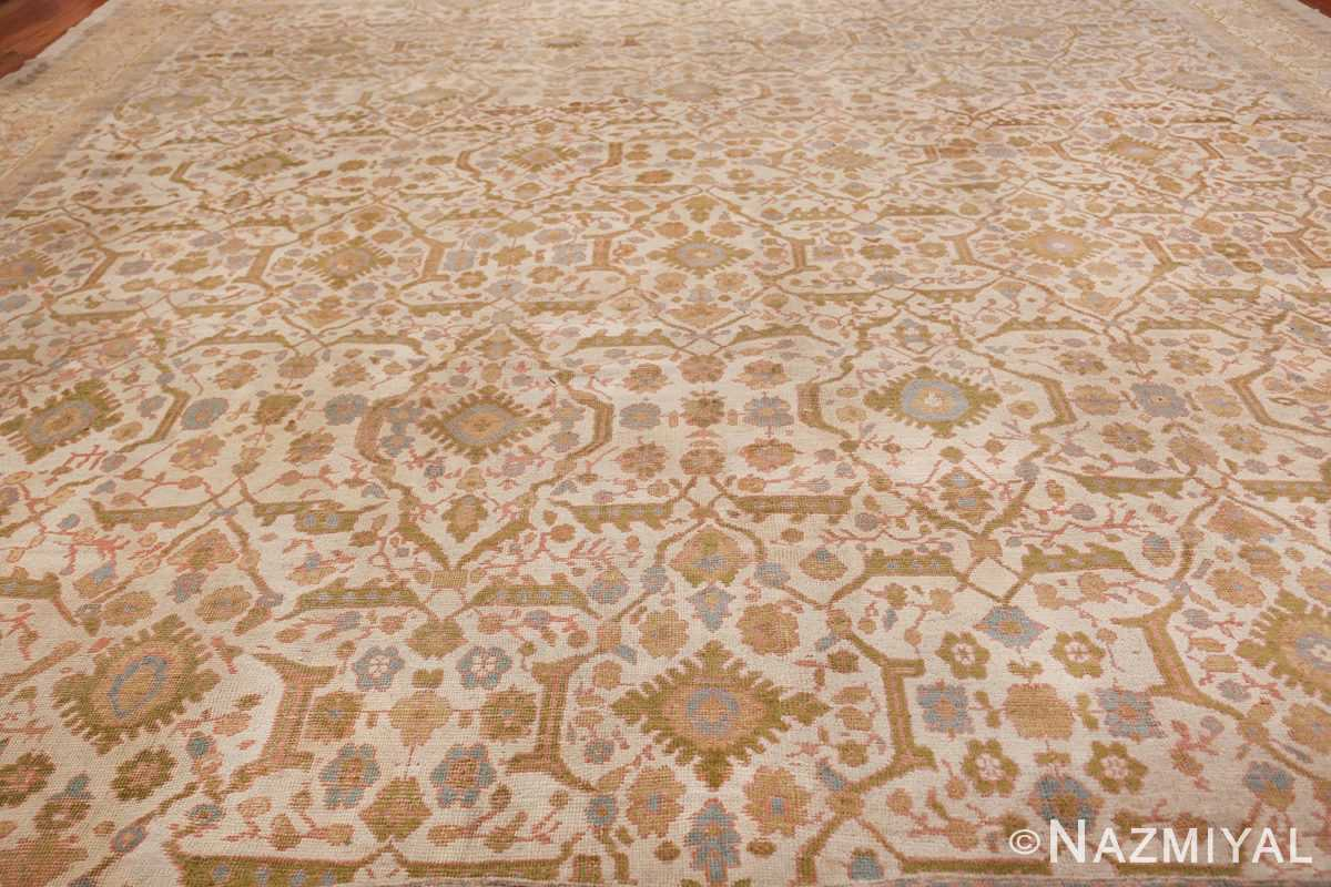 Square Size Antique Sultanabad Persian Rug 1340 All Rug Nazmiyal