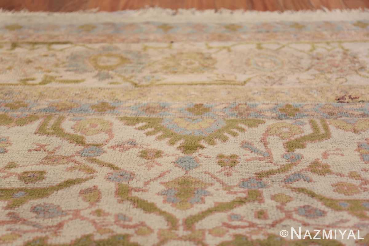 Square Size Antique Sultanabad Persian Rug 1340 Top Design Nazmiyal
