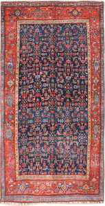 antique bidjar persian rug 41997 Nazmiyal