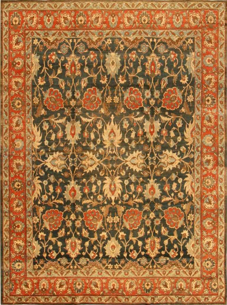 persian antique tabriz rug 41887 Nazmiyal