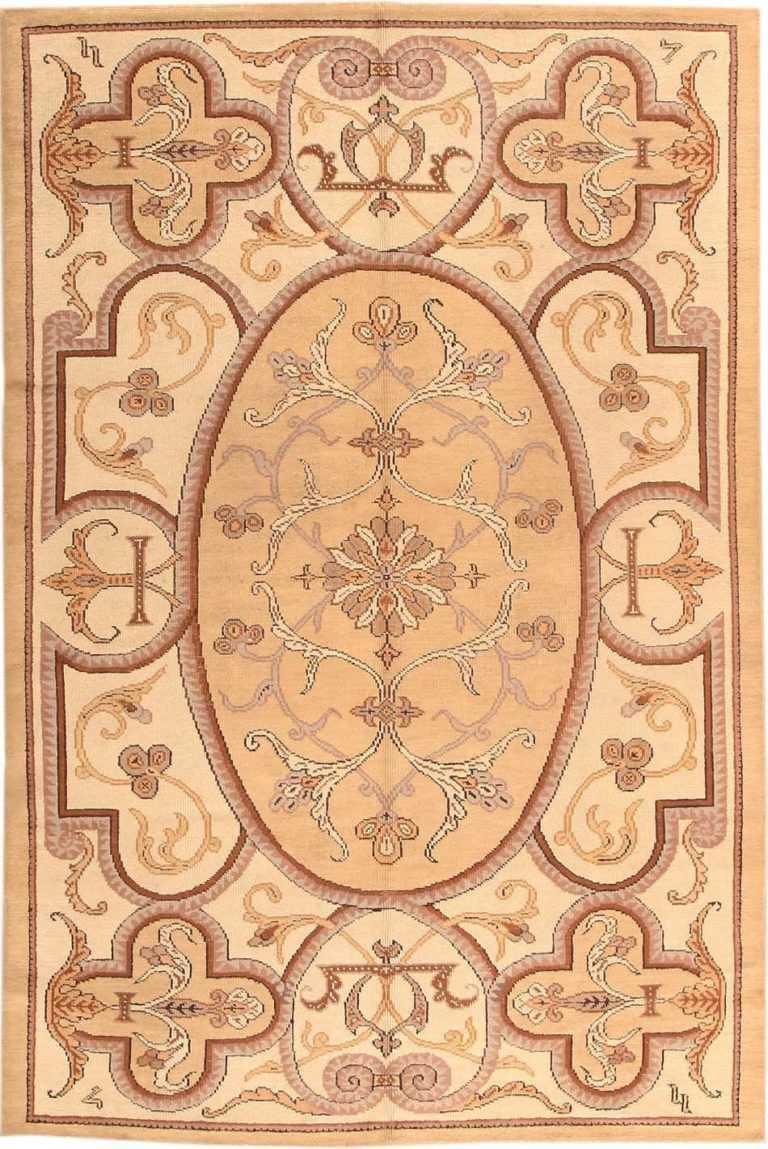 Art Deco Rug Art Deco Carpet Vintage Deco French Rug 1924