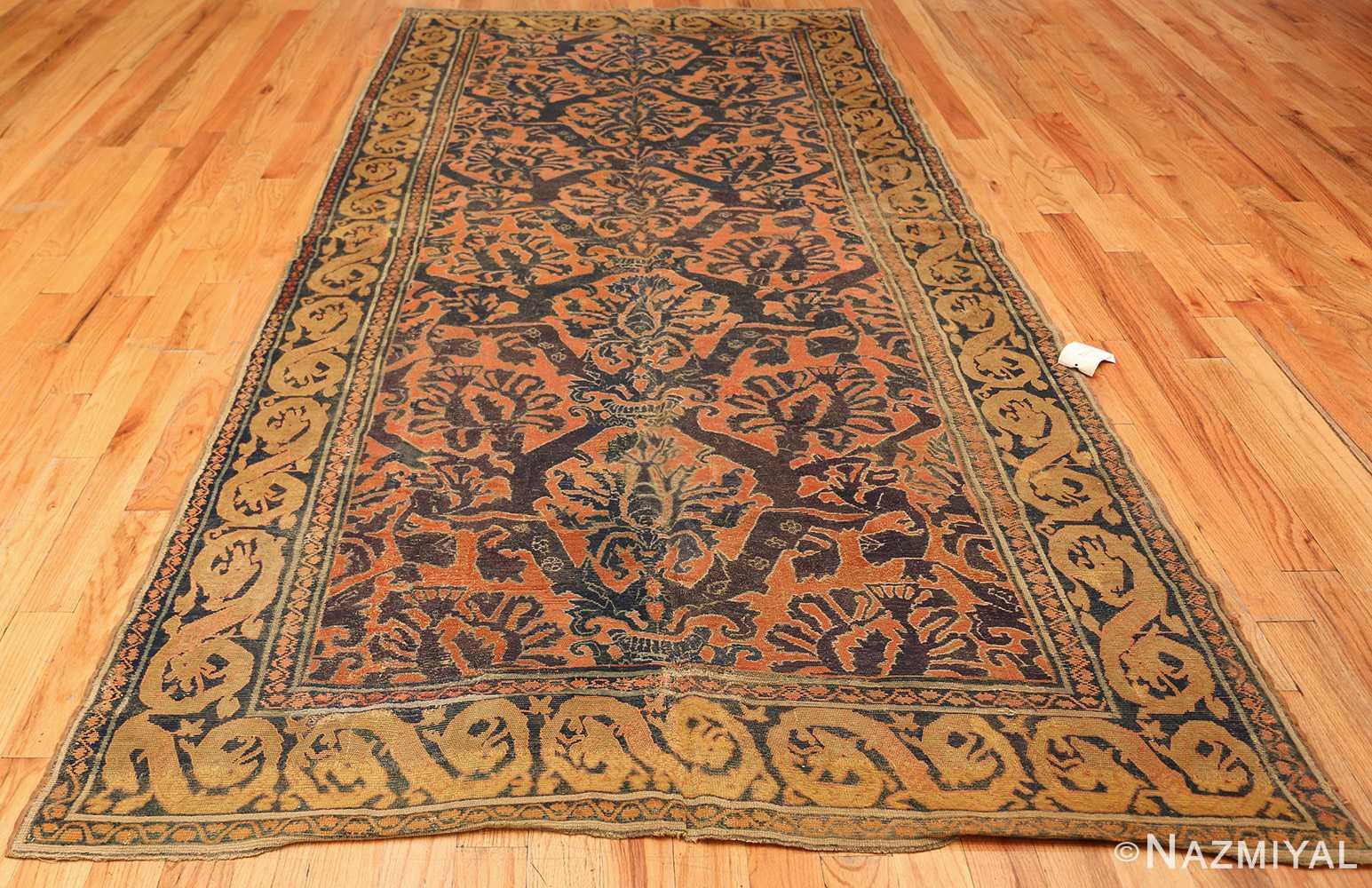 antique 16th century alcaraz oriental rug 3288 whole Nazmiyal
