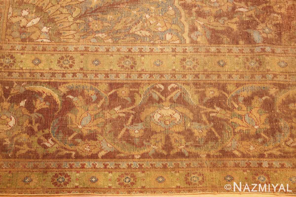 antique 16th century cairene rug 3222 border Nazmiyal