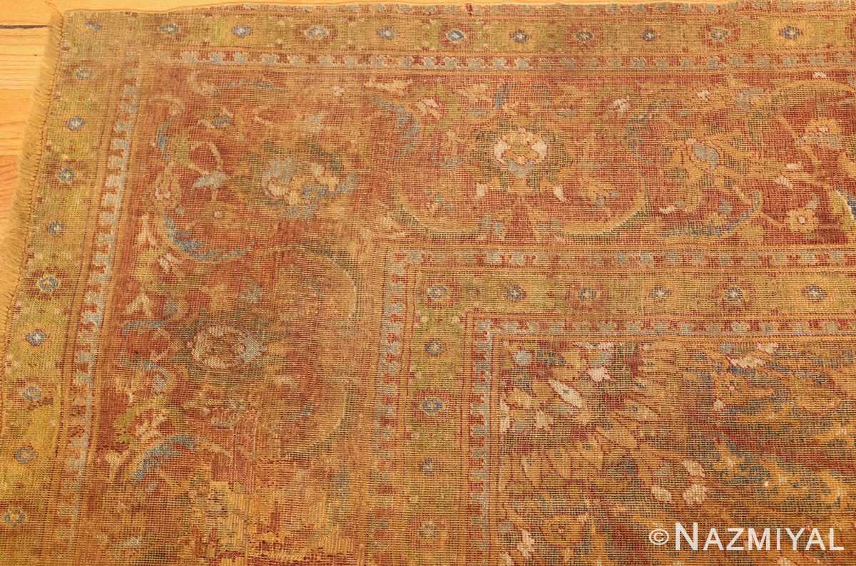 antique 16th century cairene rug 3222 corner Nazmiyal
