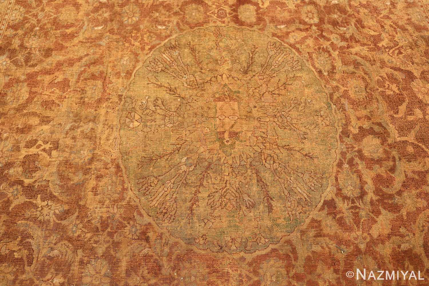 antique 16th century cairene rug 3222 field Nazmiyal
