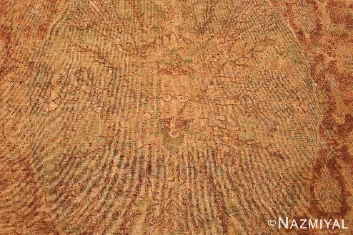 antique 16th century cairene rug 3222 medallion Nazmiyal