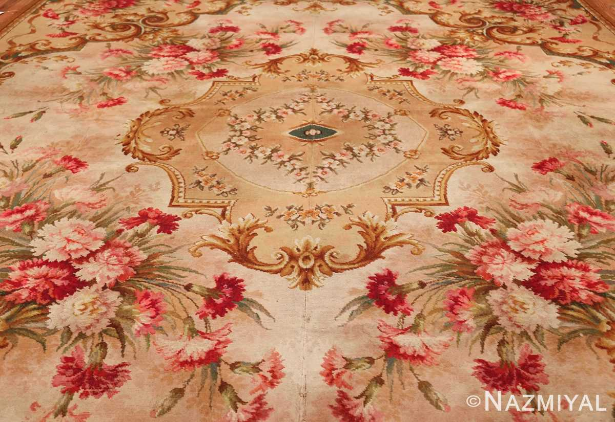 antique axminster rug 2409 field Nazmiyal