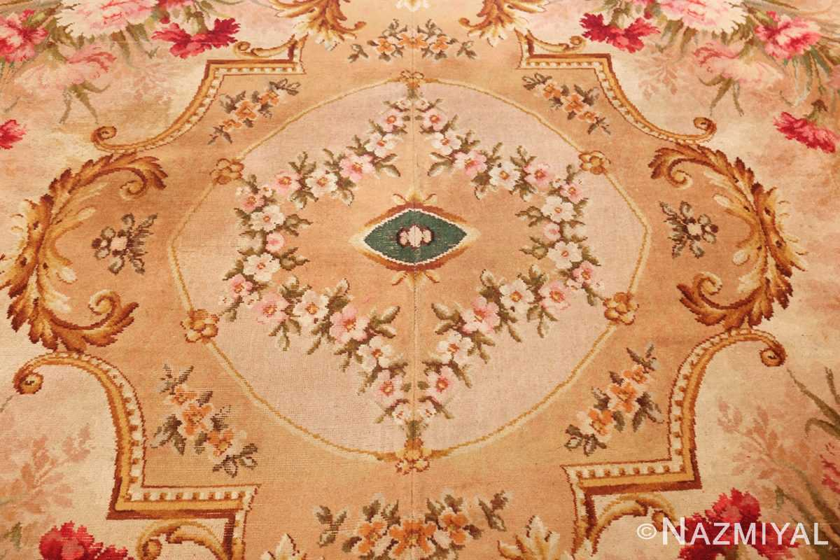 antique axminster rug 2409 medallion Nazmiyal