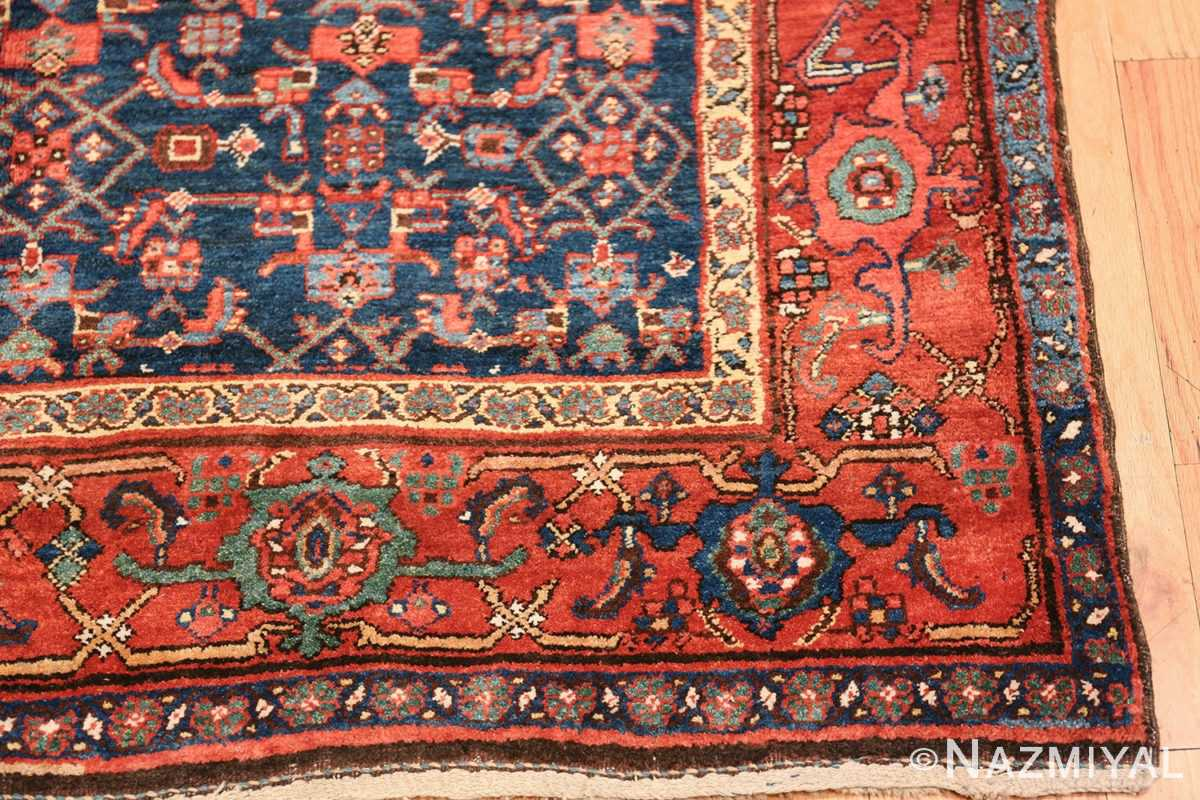 antique bidjar persian rug 41997 corner Nazmiyal