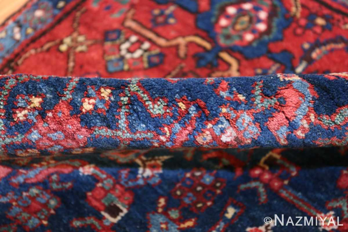 antique bidjar persian rug 41997 pile Nazmiyal