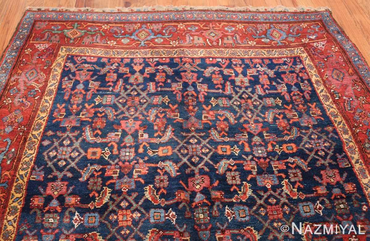 antique bidjar persian rug 41997 top Nazmiyal