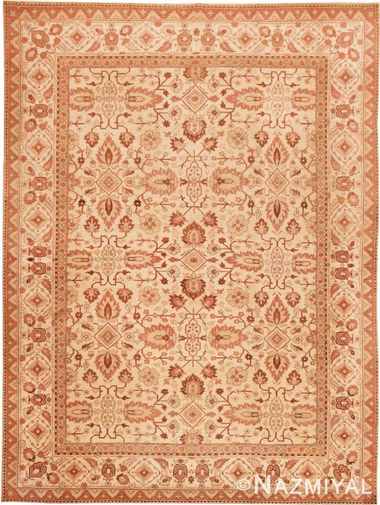 Antique Indian Agra Rug #40529 by Nazmiyal Antique Rugs