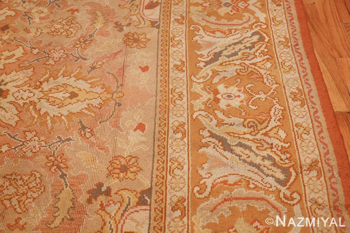 antique irish rug 40419 border Nazmiyal