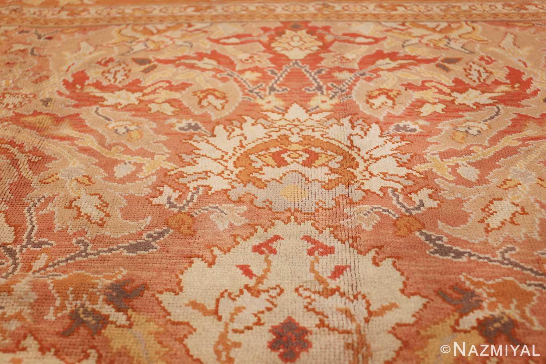 antique irish rug 40419 fire Nazmiyal