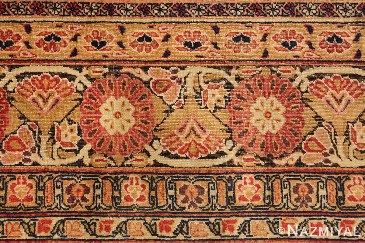 antique kerman persian rug 1195 closeup Nazmiyal
