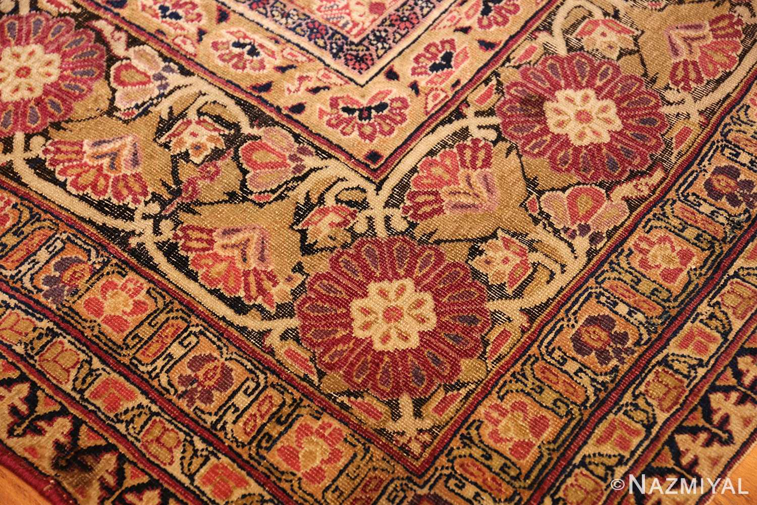 antique kerman persian rug 1195 cu Nazmiyal