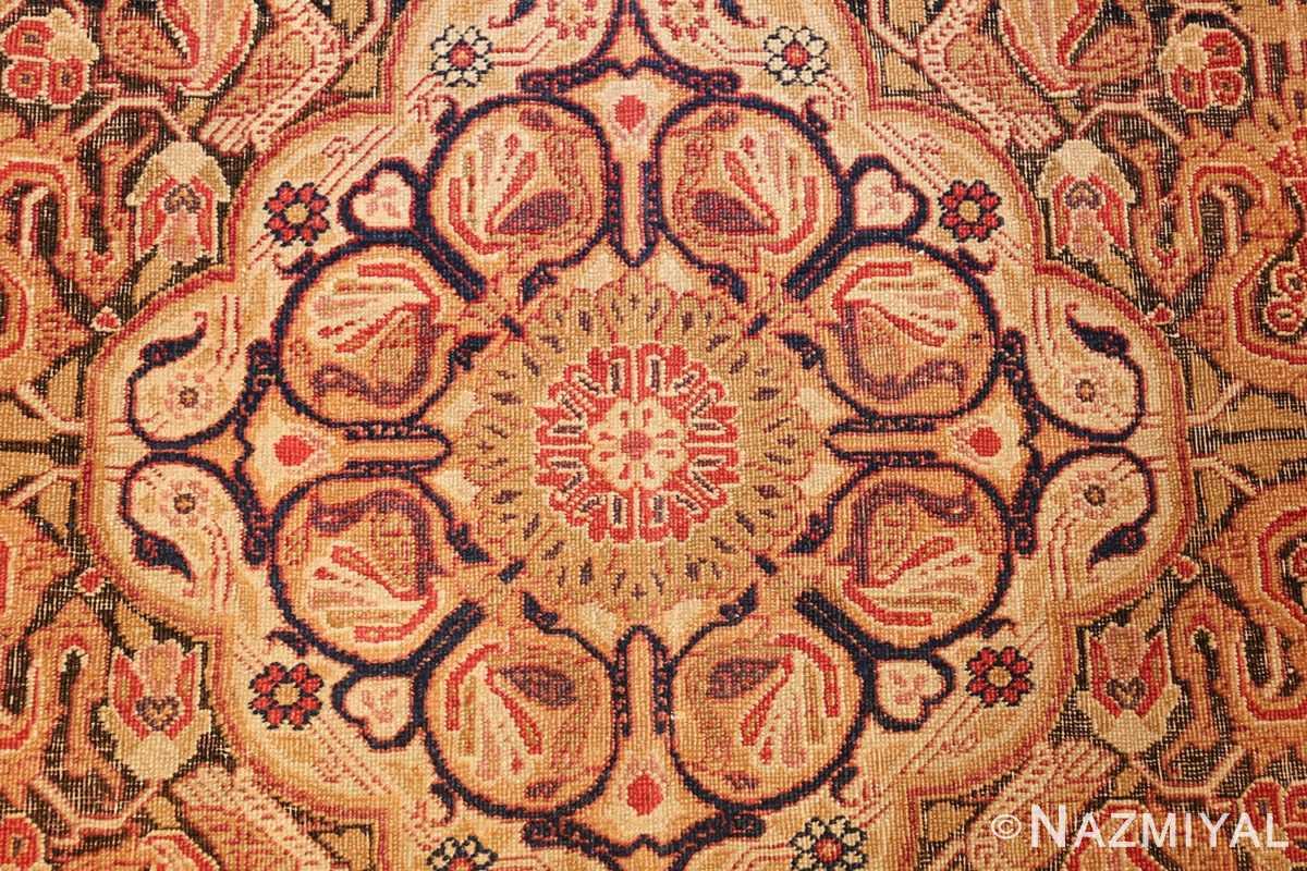 antique kerman persian rug 1195 design Nazmiyal