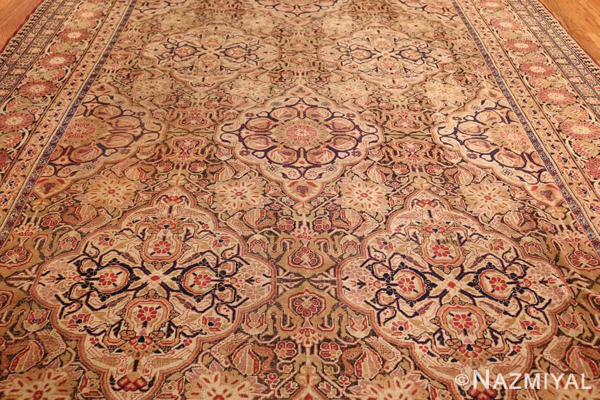 antique kerman persian rug 1195 field Nazmiyal