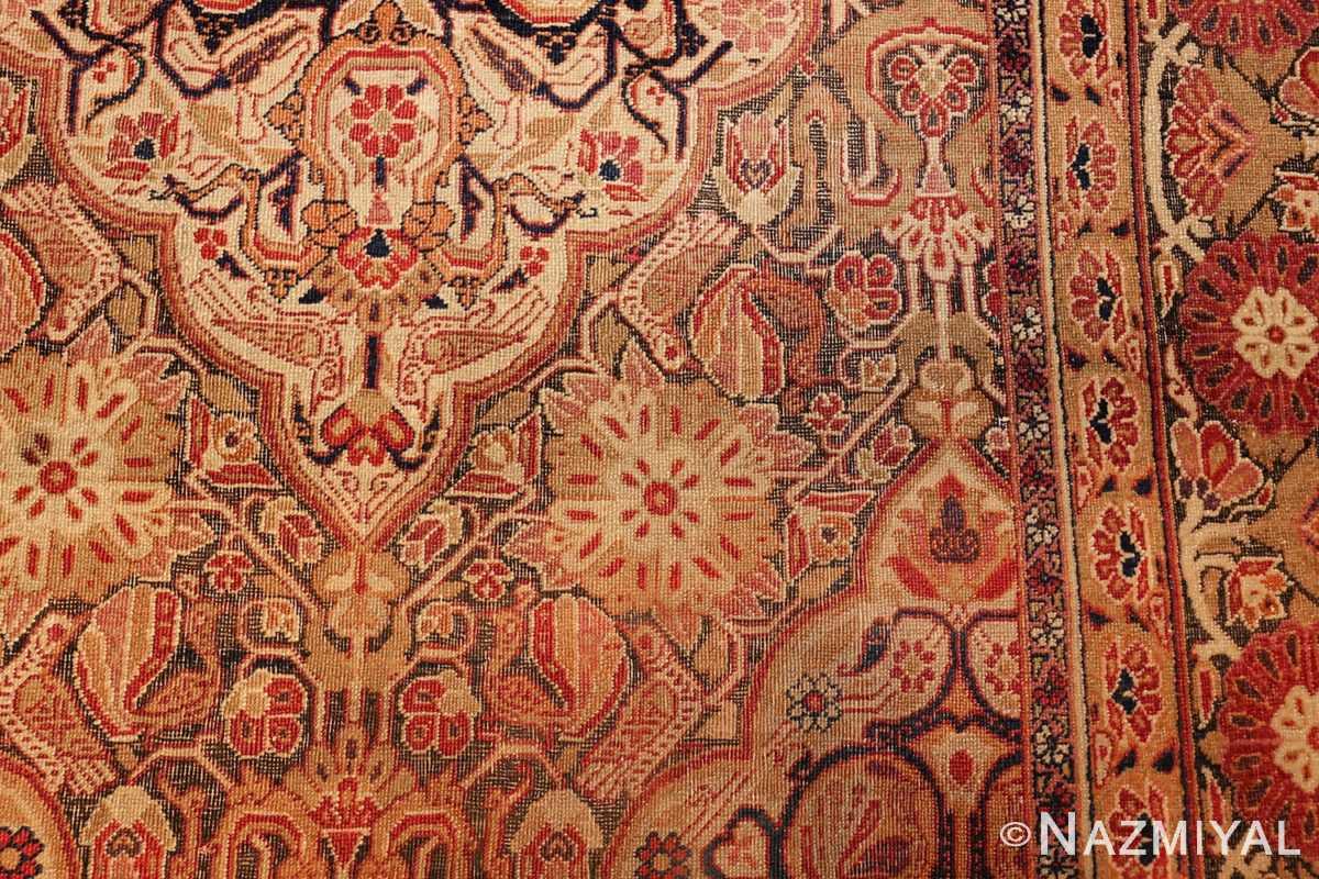 antique kerman persian rug 1195 hegzo Nazmiyal