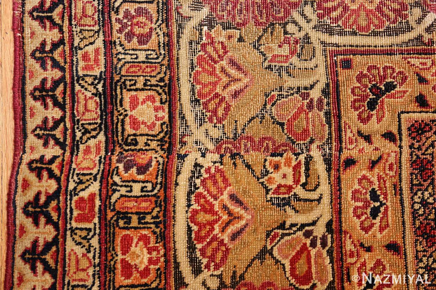 antique kerman persian rug 1195 line Nazmiyal