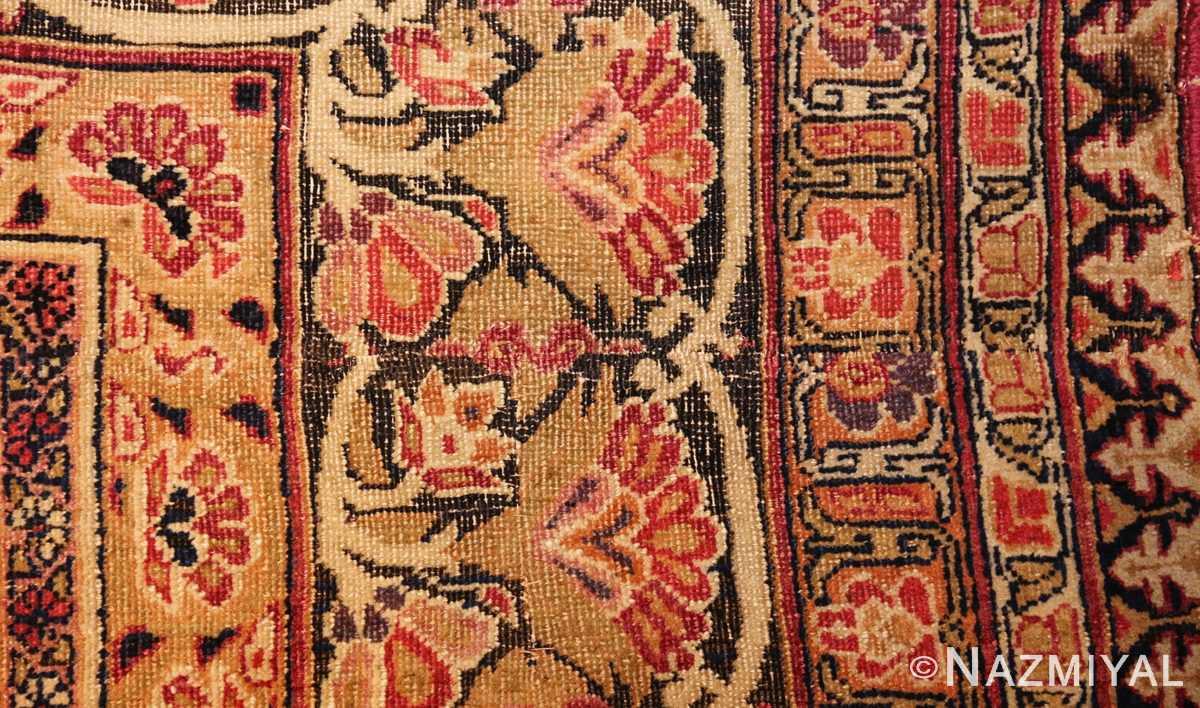 antique kerman persian rug 1195 part Nazmiyal