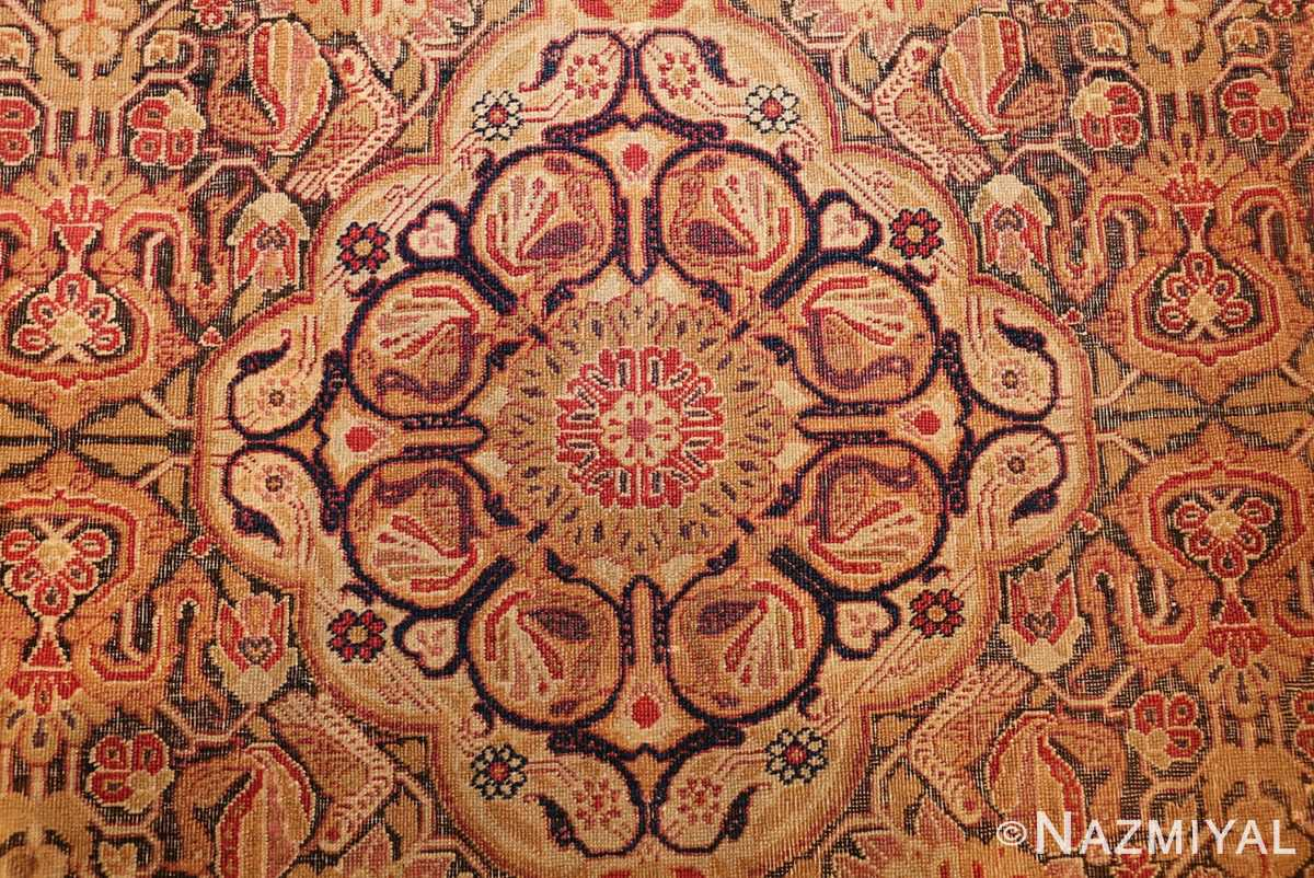 antique kerman persian rug 1195 total Nazmiyal