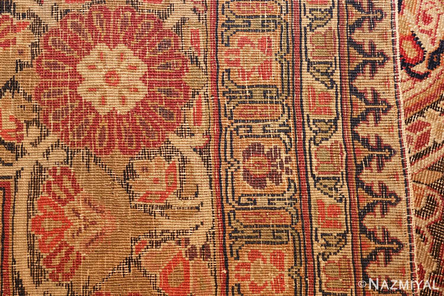 antique kerman persian rug 1195 weave Nazmiyal
