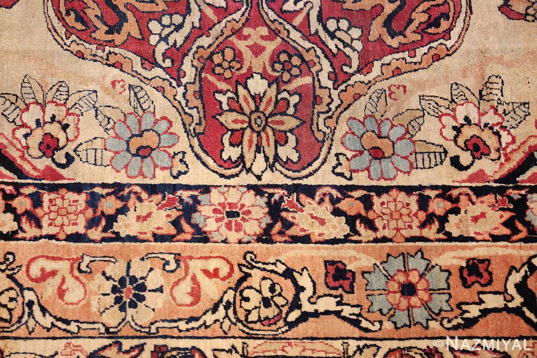 antique kerman persian rug 40523 blue Nazmiyal