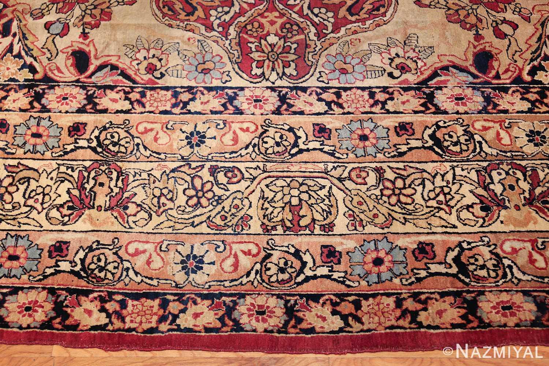 antique kerman persian rug 40523 border Nazmiyal
