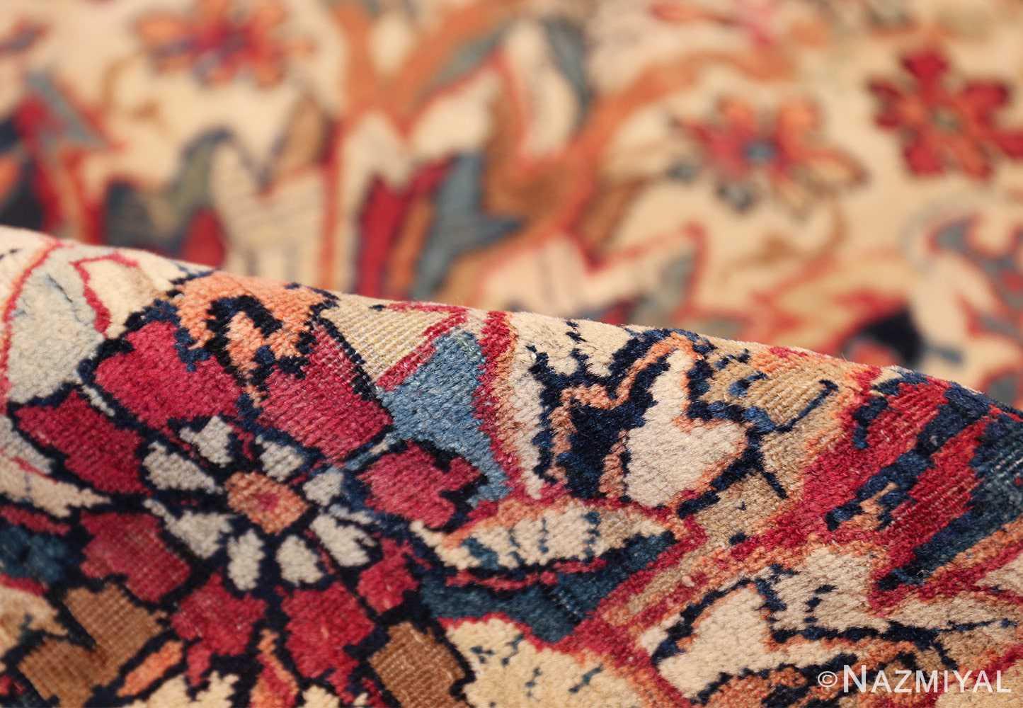 antique kerman persian rug 40523 pile Nazmiyal