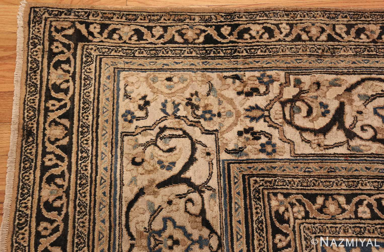 antique khorassan persian rug 41782 corner Nazmiyal