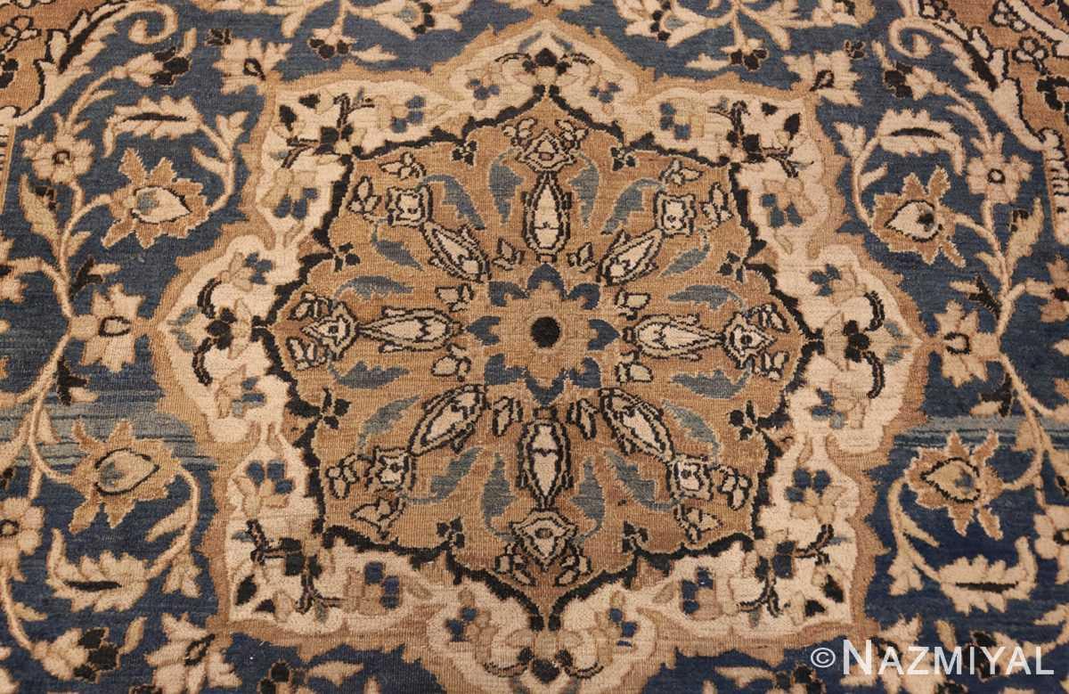 antique khorassan persian rug 41782 medallion Nazmiyal