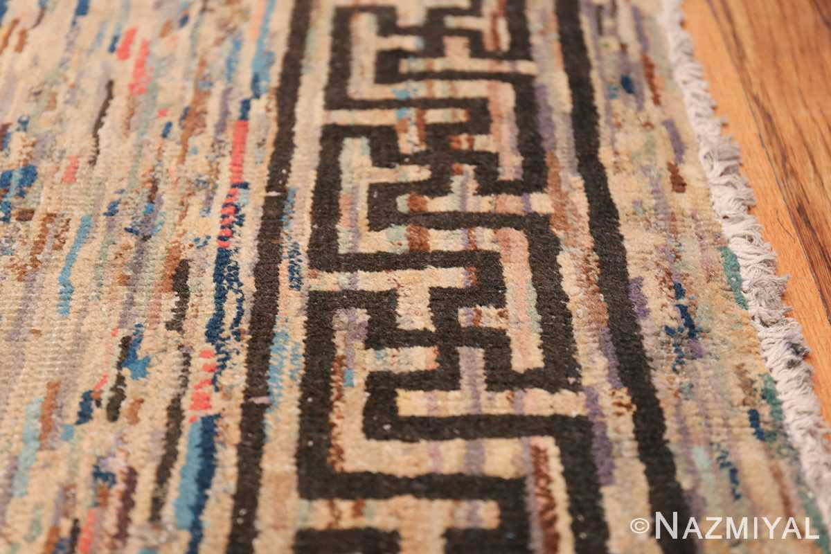 Antique Mongolian Rug 2865 Border Nazmiyal