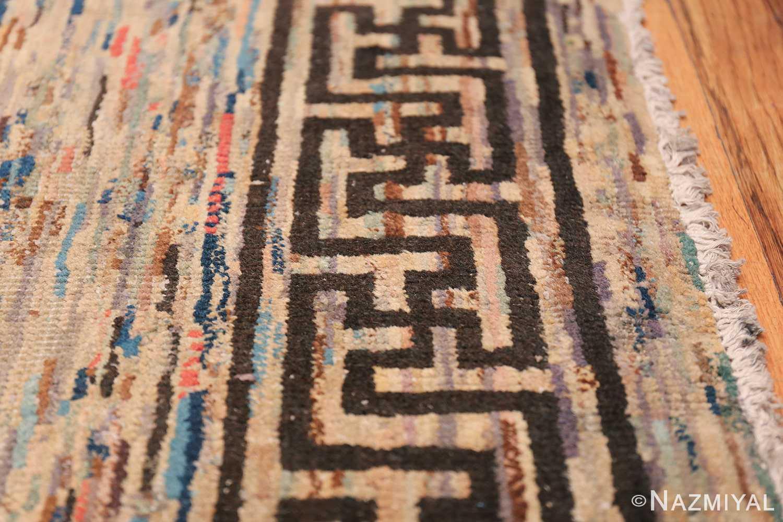 Antique Mongolian Rug 2865 Border Nazmiyal