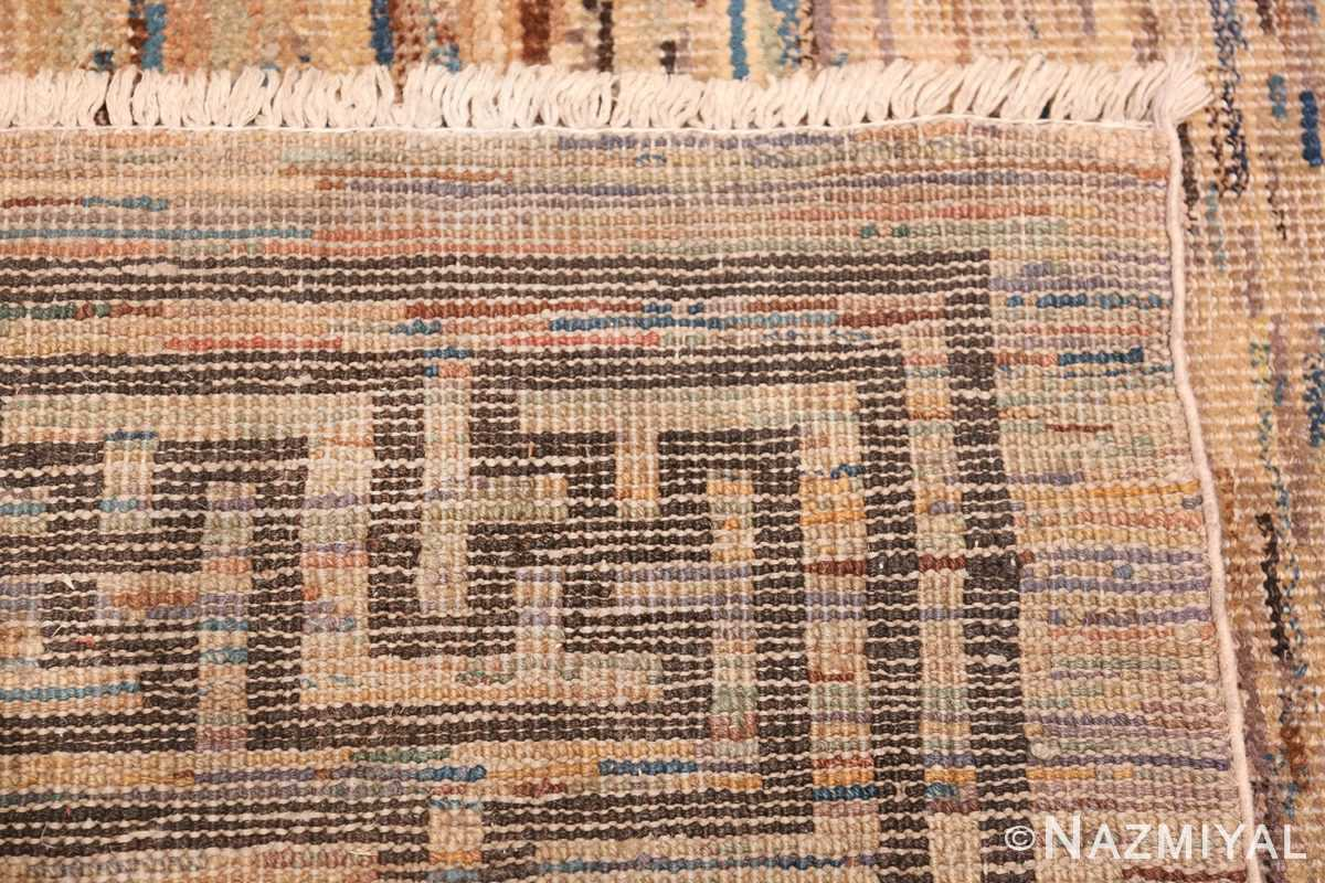 Antique Mongolian Rug 2865 Knots Weave Nazmiyal