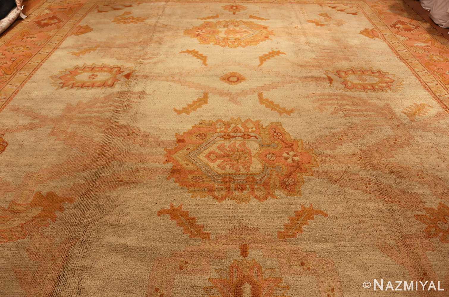 antique turkish oushak rug 2708 full Nazmiyal