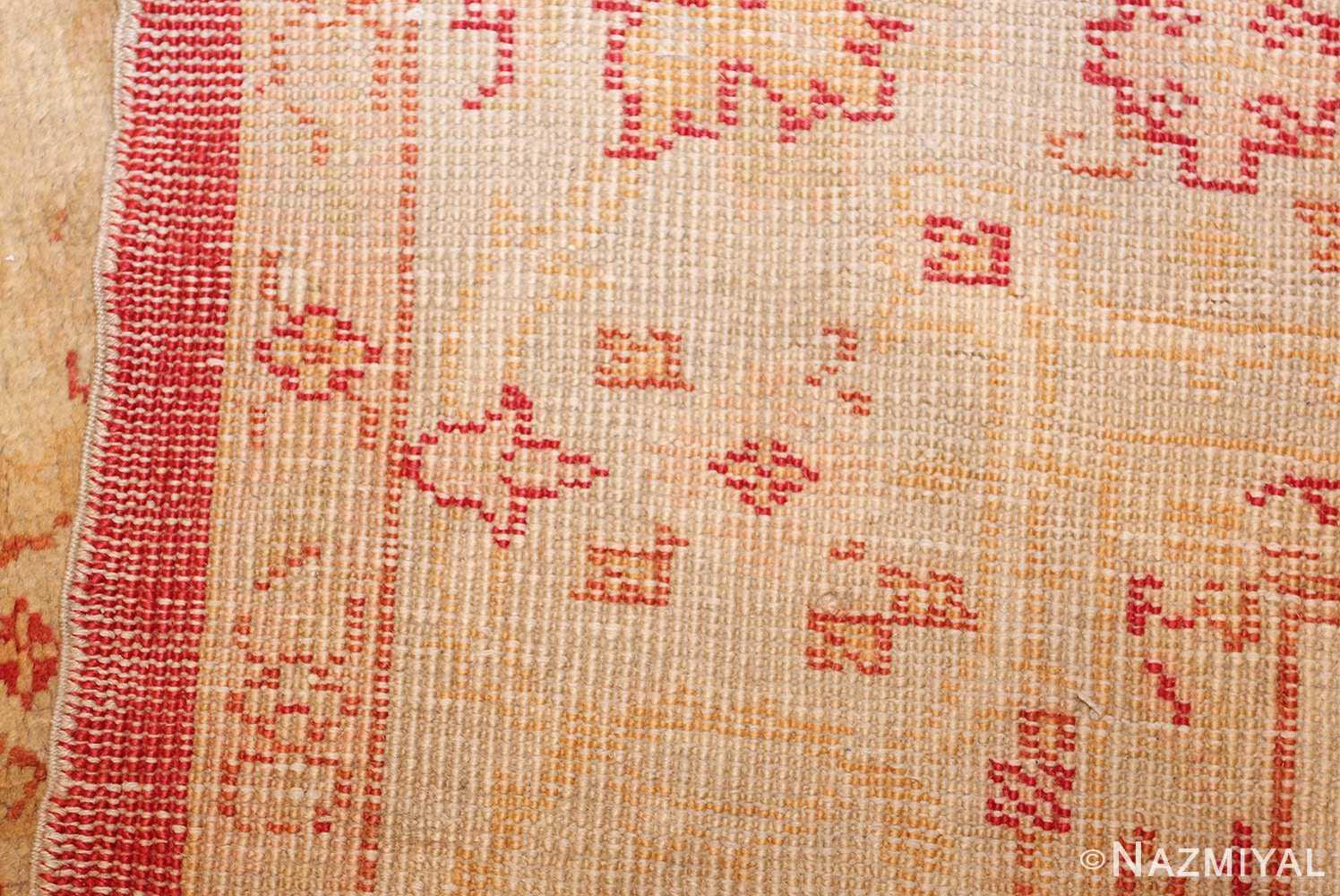 antique turkish oushak rug 2988 weave Nazmiyal