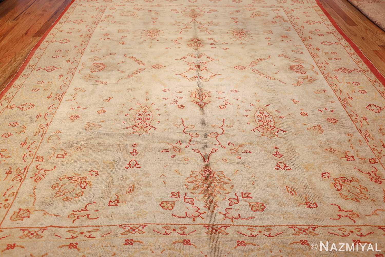 antique turkish oushak rug 2988 whole Nazmiyal