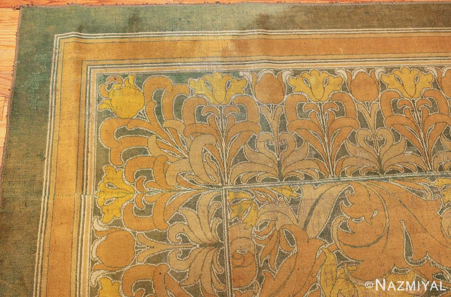 antique wilton english arts and crafts rug 2657 corner Nazmiyal
