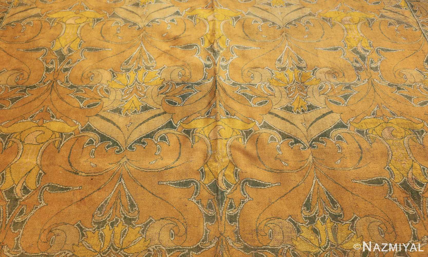 antique wilton english arts and crafts rug 2657 field Nazmiyal